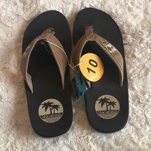 Margaritaville Mens flip flop Slipper Sandal Sz 10